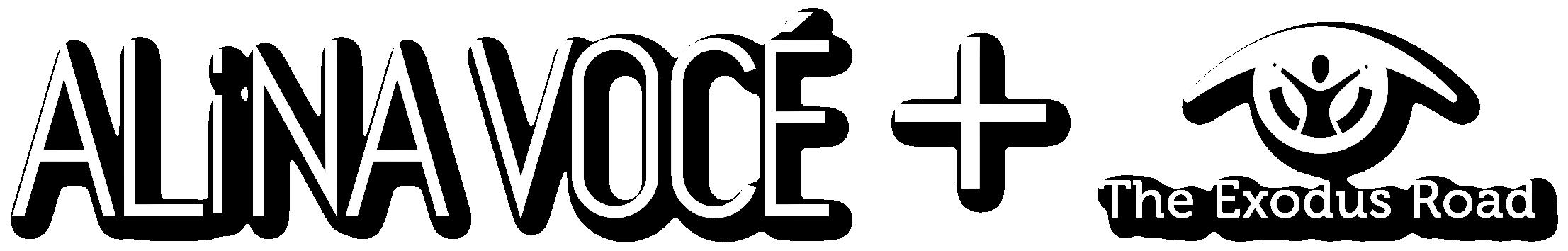 Alina Voce + The Exodus Road Logo